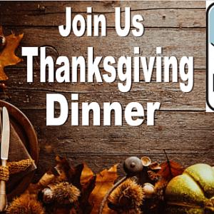 Annual Thanksgiving Dinner New Life Church